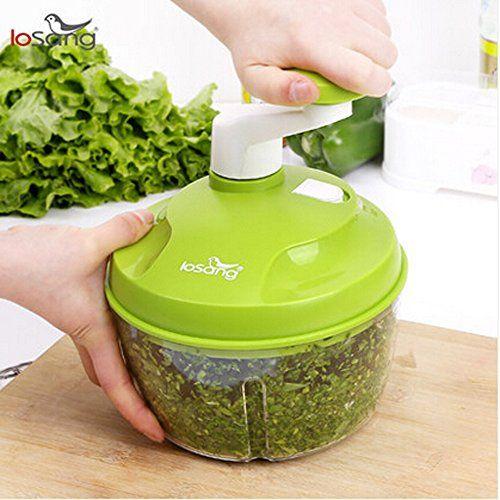 Manual Food Processor Food Chopper Mixer Slicer Salad Maker GMG02 * BEST  VALUE BUY On Amazon #FoodProcessors