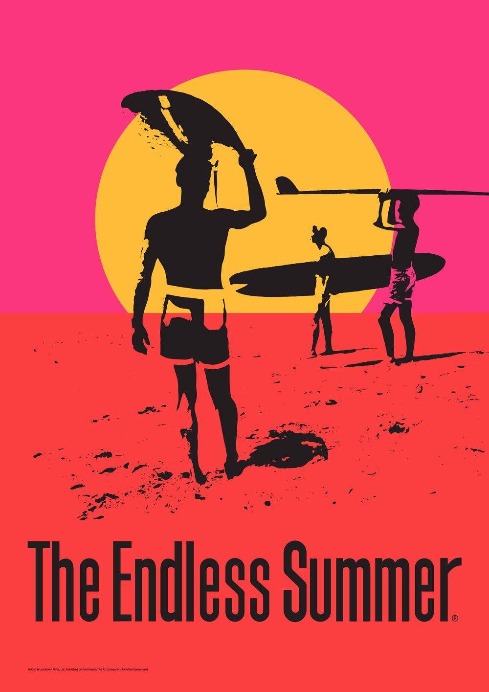 """/""""The Endless Summer/"""" Classic Surfers Movie Poster Various Sizes"""