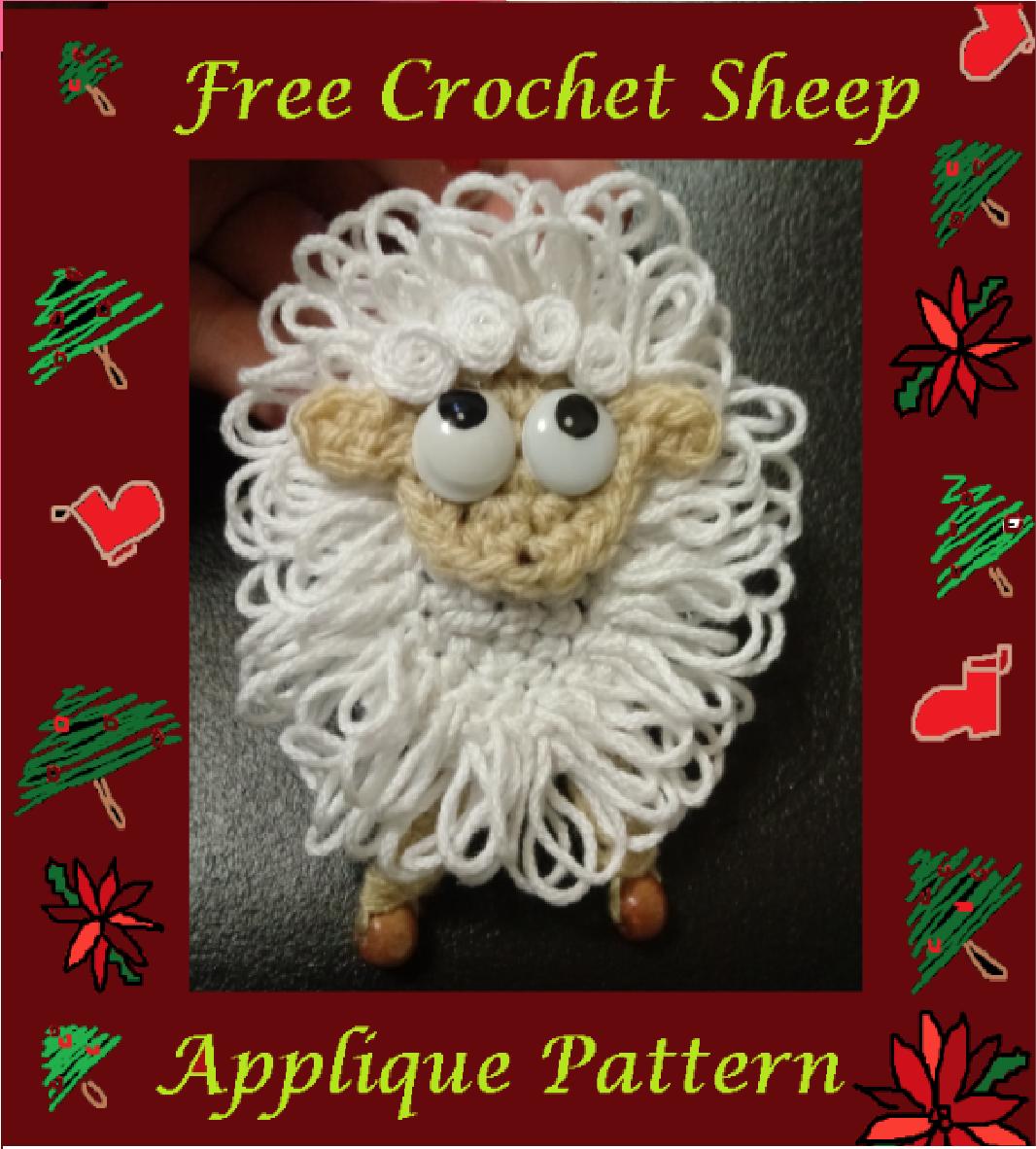 Häkelschaf Teil 2/2 * Tutorial * Crochet Sheep [eng sub] - YouTube | 1182x1066