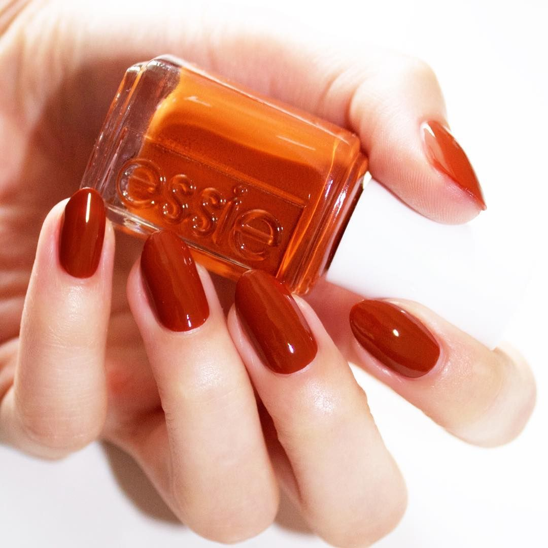 Essie Nail Polish Orange Shades: 'playing Koi' Is One Of The Daring New Shades From The