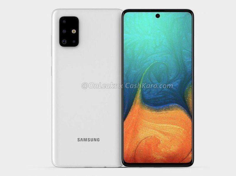 News Camera Galaxynote Samsung Galaxy A71 Renders Show Hole