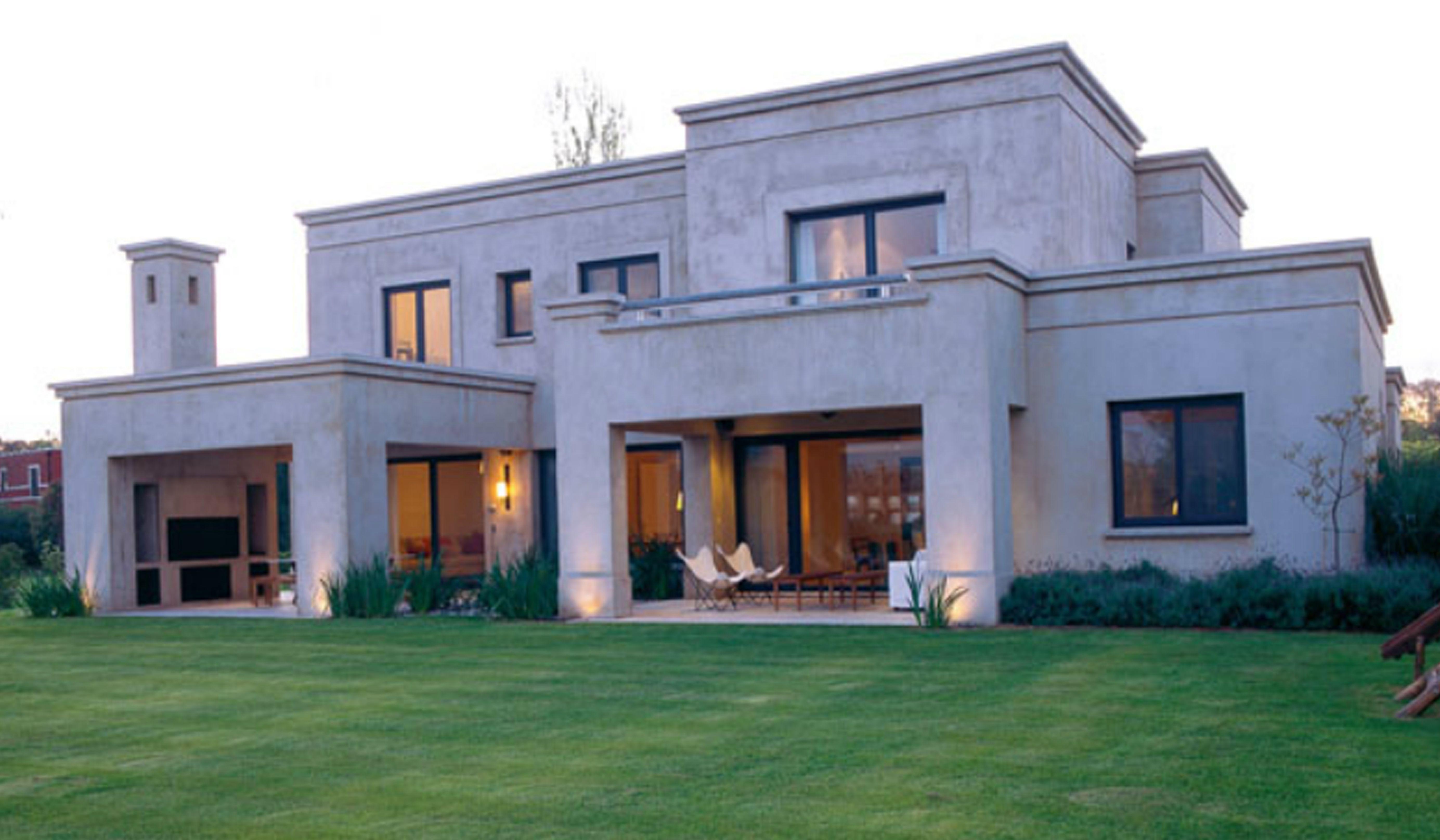 Fachada casa dos pisos casa pinterest for Fachadas de casas de 2 pisos pequenas