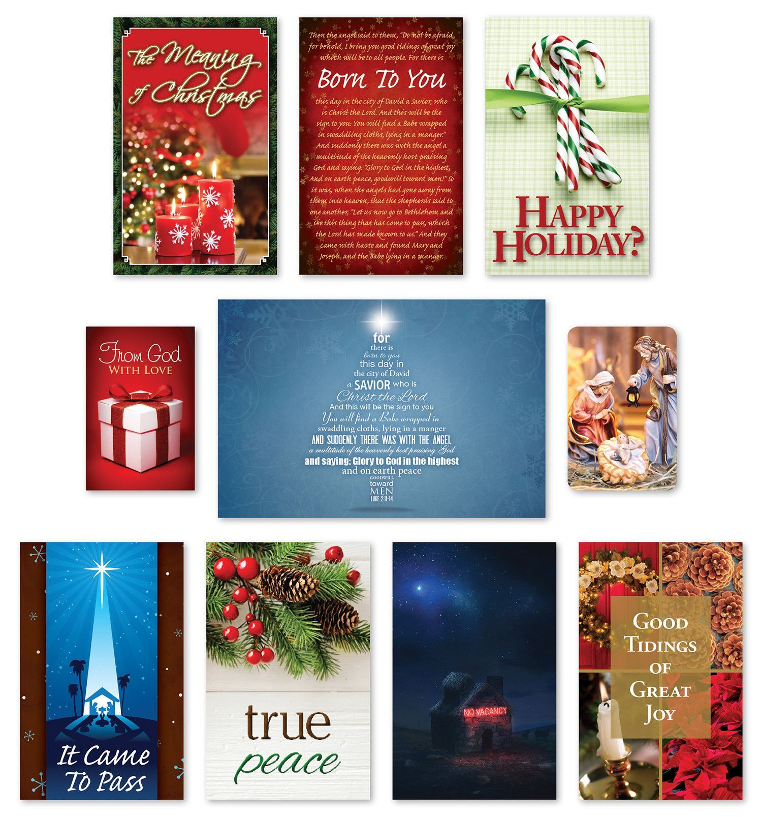 Christmas tracts assortment meaning of christmas