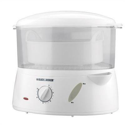 Black Decker Handy Steamer And Rice Cooker Hs1000 Kitchen
