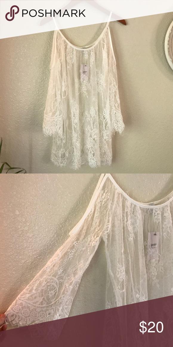 White Lace Dress Nwt Lace White Dress Clothes Design