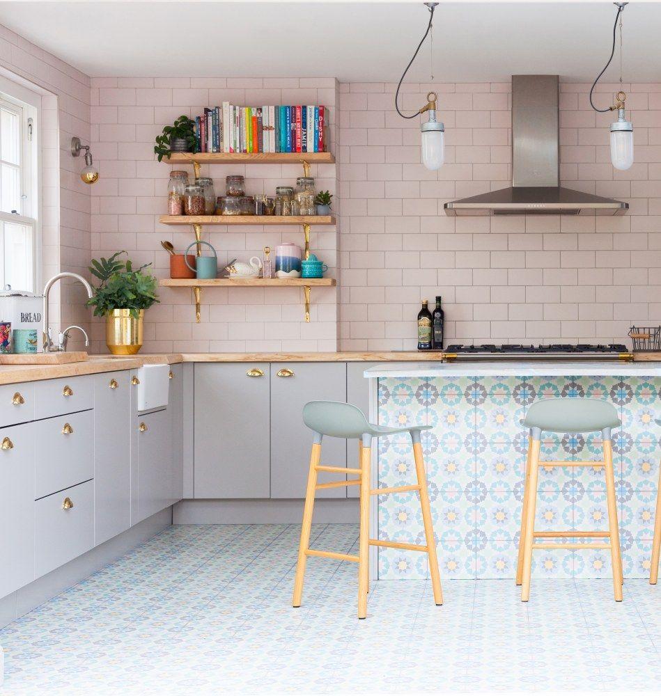 Kitchen Design Sri Lanka: 2LG Studio St. Albans, England Edwardian Cottage Home Tour