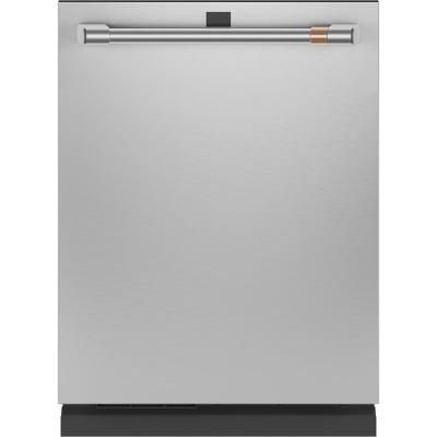 Cafe Top Control Tall Tub Dishwasher In Matte White With Stainless Steel Tub Fingerprint Resistant 4 In 2020 Steel Tub Built In Dishwasher Stainless Steel Dishwasher