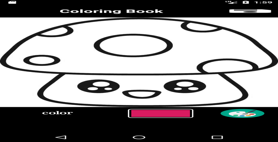 Coloring Book Android App By Adilo123 Ad Book Sponsored Coloring App Android In 2020 Coloring Books Android Apps Colorful Pictures