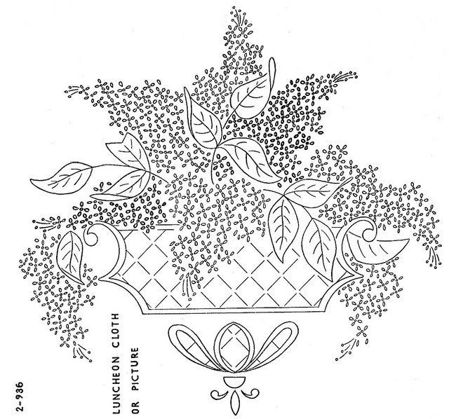 2-936 e WB Jan 1947 | Bordado, Patrones de bordado y Dibujos para bordar