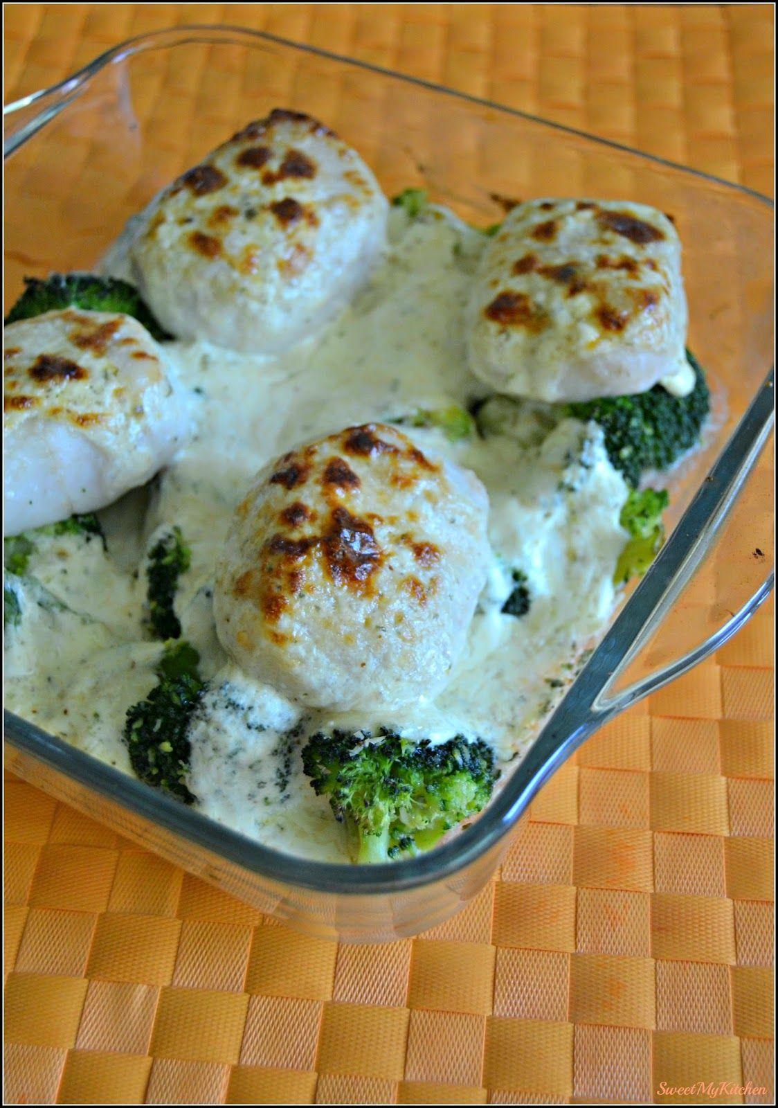 Sweet my Kitchen: Pescada gratinada com brócolos