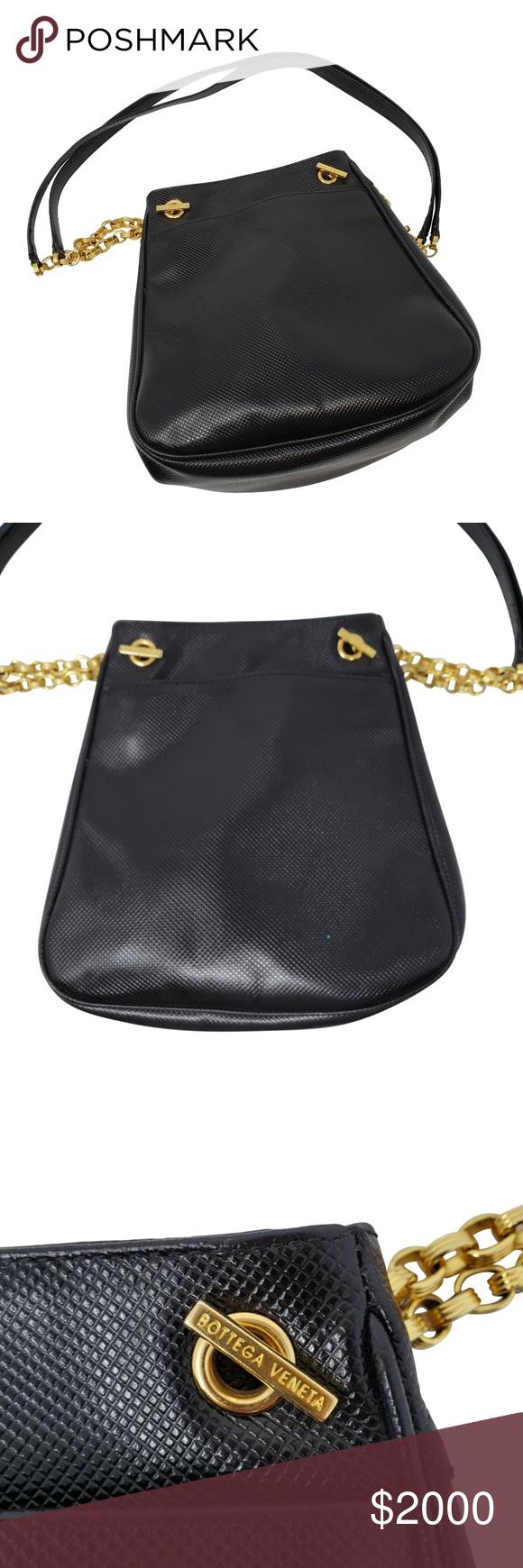Bottiga Veneta Italy Black Bucket Handbag Visual Authentication Done Next Step Is The Certificate Of Authenticity Which I Ll Have Crossbody Bag Bucket Handbags Black Bucket