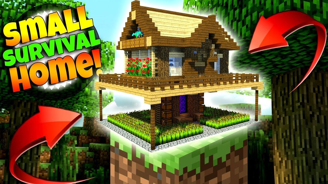 Best Small Survival House Ever Minecraft Tutorial Minecraft Tutorial Minecraft Designs Amazing Minecraft