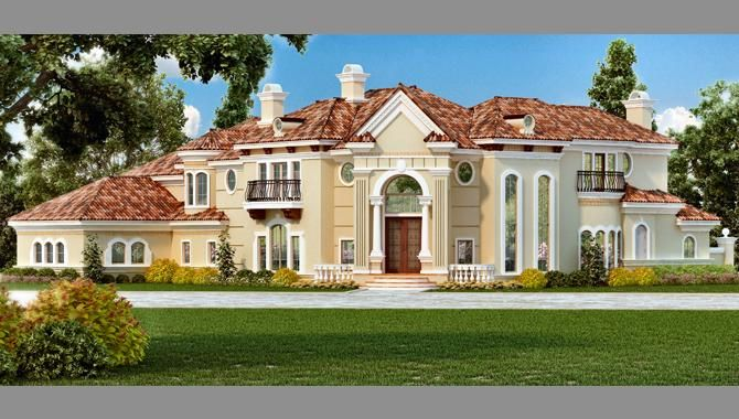 House Plan 544500146 Mediterranean Plan 7199 Square Feet 4