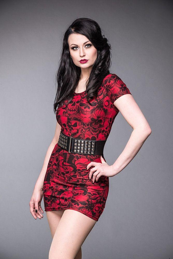 Queen Of Darkness Womens Studded Waist Black Gothic Belt