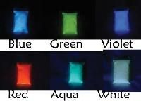 Glow in the Dark powders - set of 6 - for resin jewelry making -- your resin jewelry will glow!