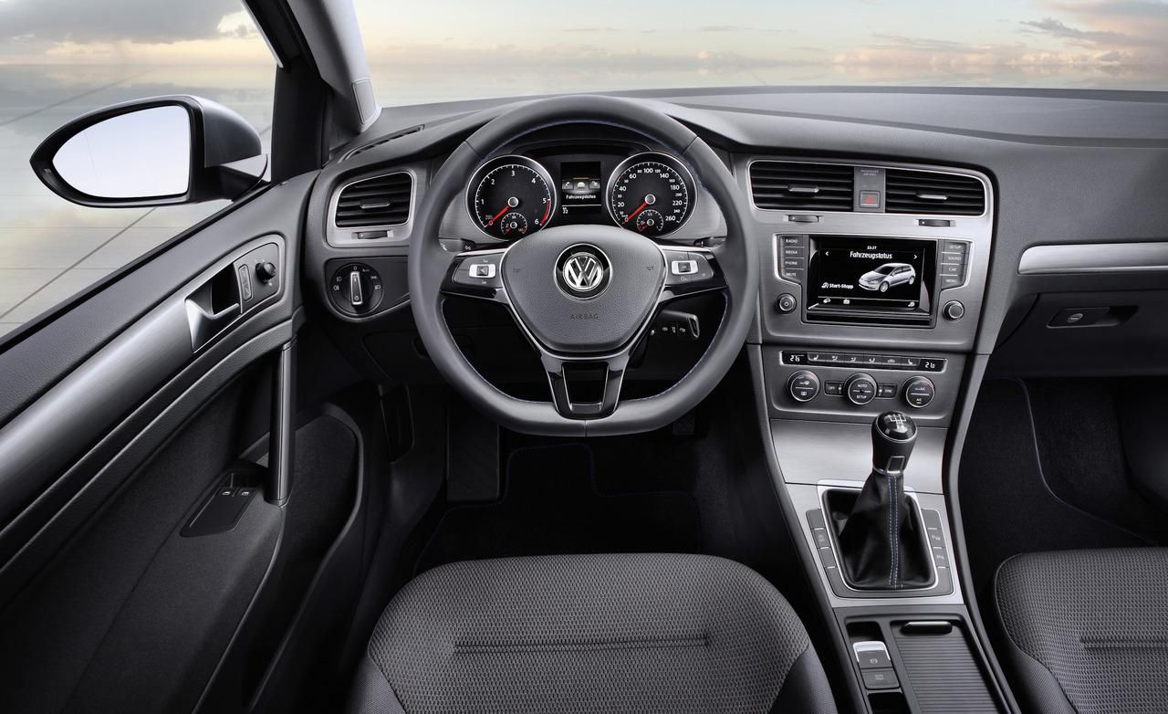 Vw golf mk7 interior 2014