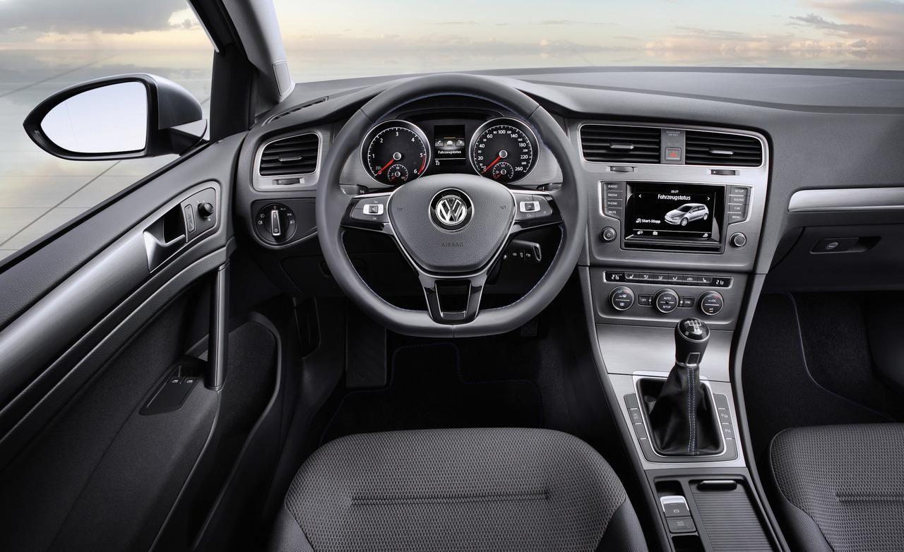 Vw Golf Mk7 Interior 2014 Volkswagen Golf Volkswagen