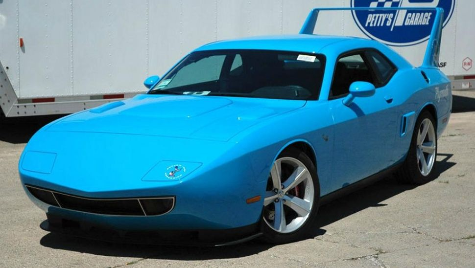 This super terrifying, modern day Plymouth Superbird has 1,000 HP ...