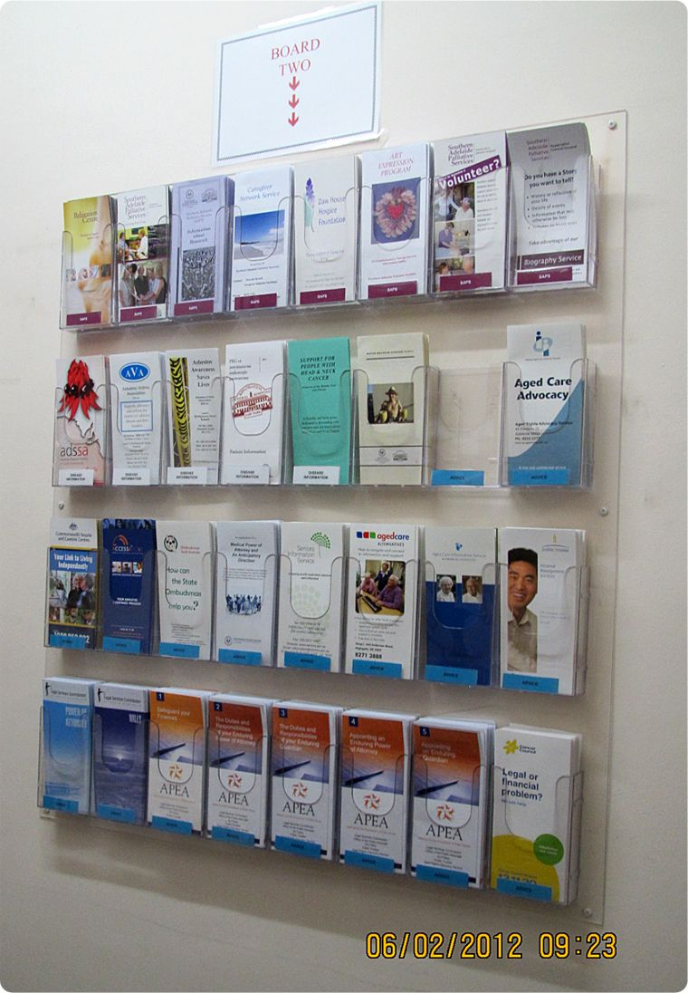Dl Wall Mount Brochure Holder Panel Work Int Design In