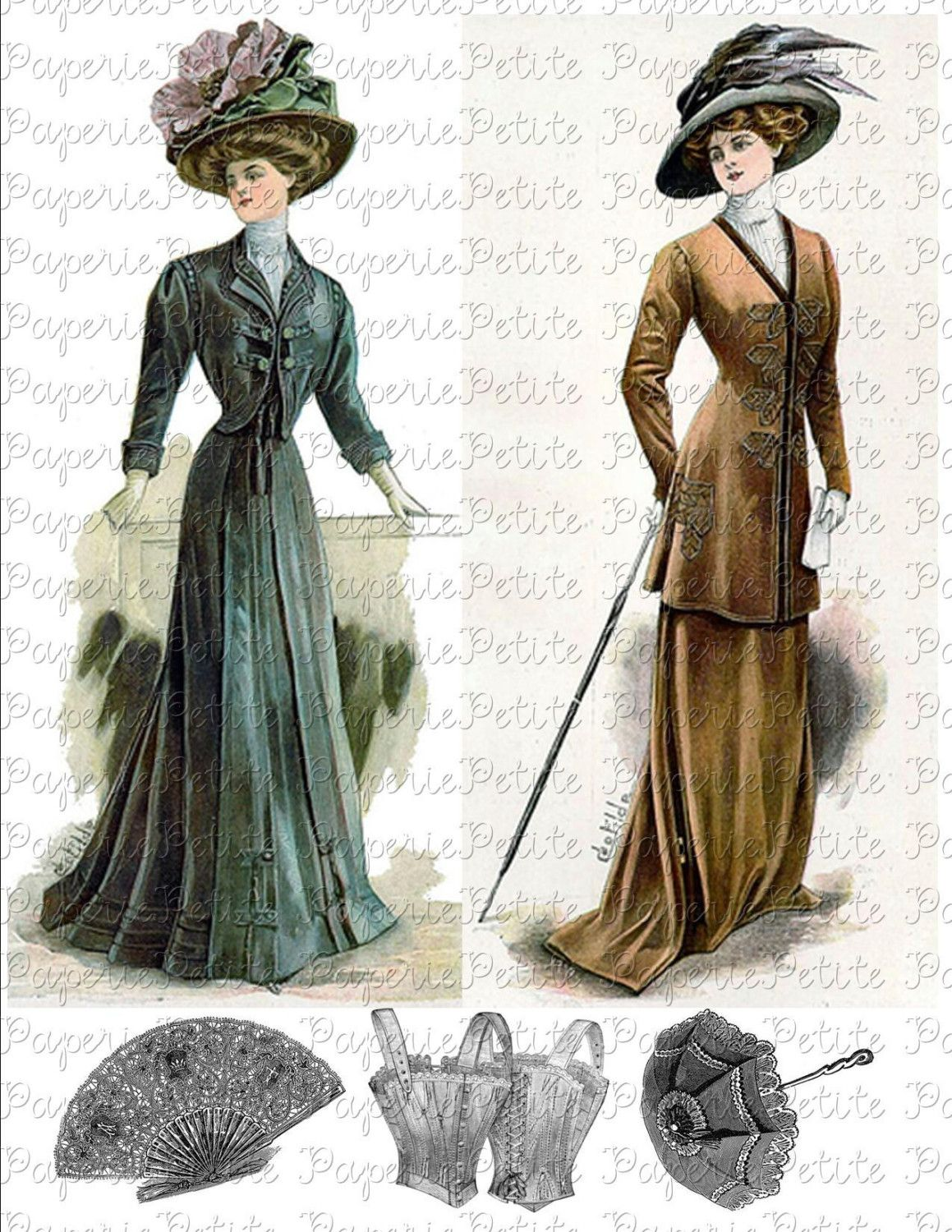 Did Victorian women wear fascinators?