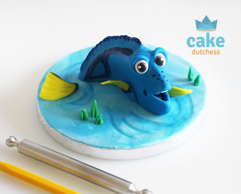 Finding Dory Cake Topper - Cake by Etty | Nemo, Dory ...