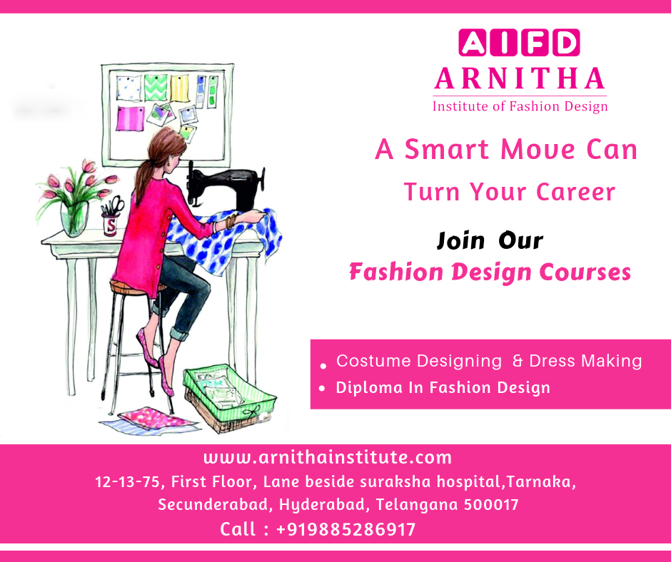 Diploma In Fashion Designing Admissions Are Open Arnitha Institute Of Fashion D Diploma In Fashion Designing Fashion Design Career In Fashion Designing