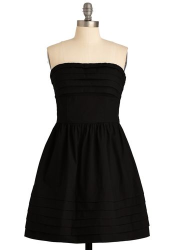 What a Keeper Dress in black- the perfect little black dress :)