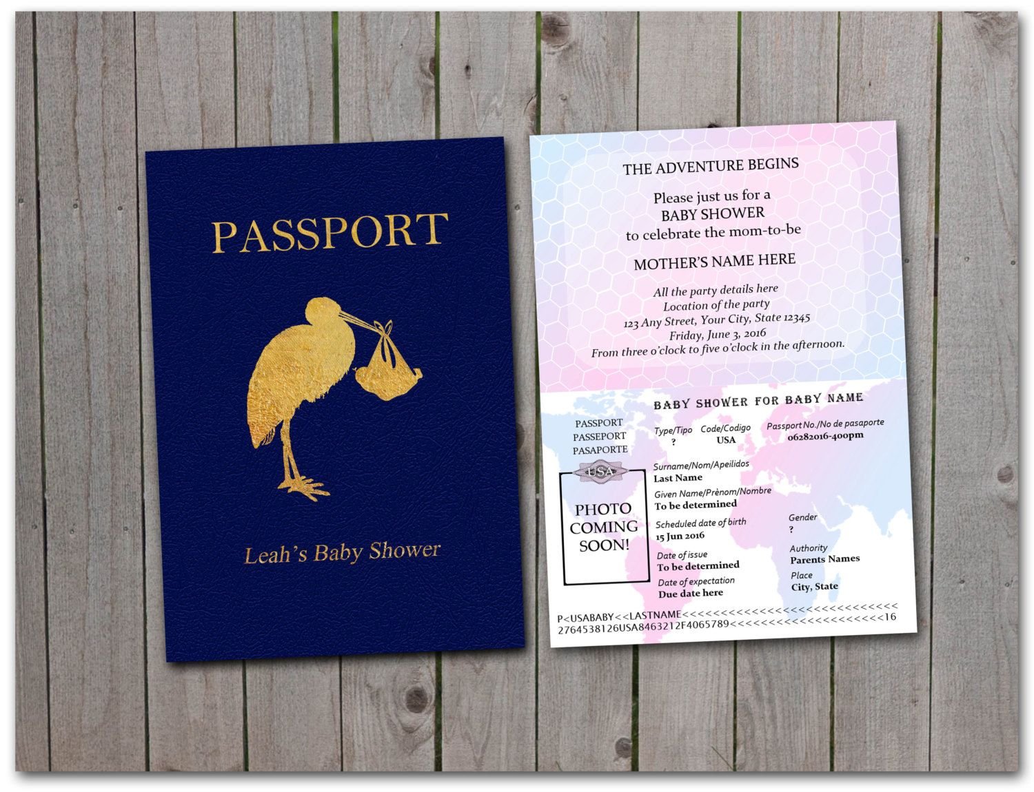 Related image travel baby shower in 2018 pinterest passport baby shower invitations related image filmwisefo