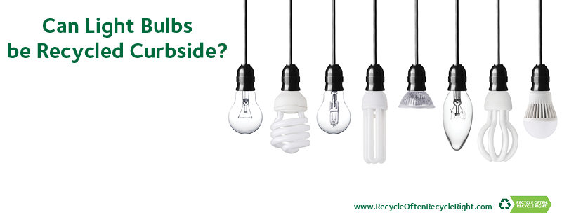 The correct answer is No. Light bulbs of any kind are not