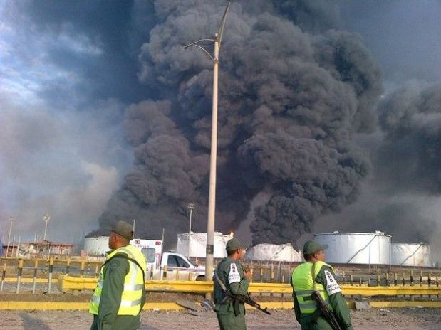 JM Álvarez: Explosión en refineria de Venezuela causa 26 muertos,17 son Guardias Nacionales