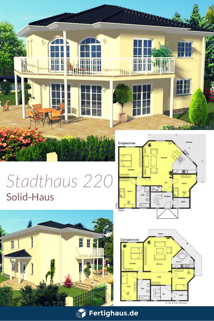 Große Stadtvilla für zwei Familien von SolidHaus Erhalte