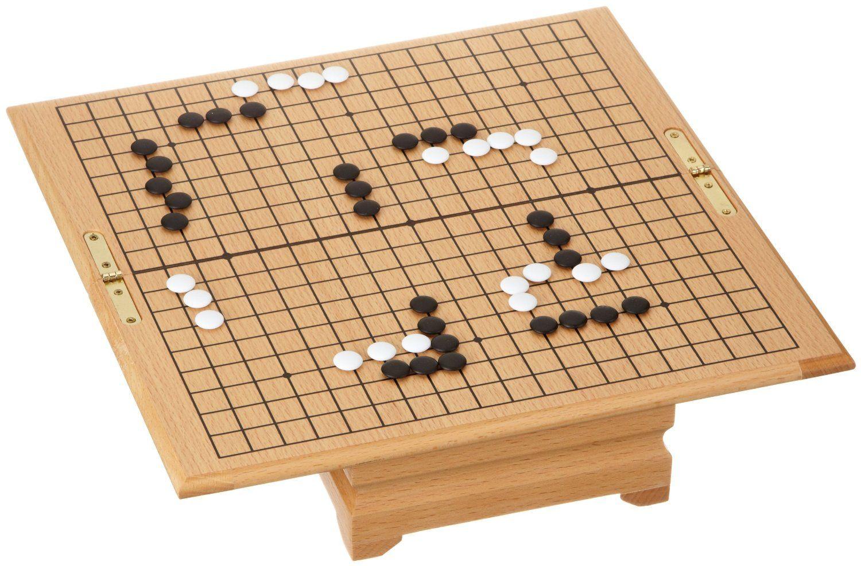 Philos 3215 - Go, Truhe mit klappbarem Brett, Magnetverschluss, Strategiespiel: Amazon.de: Spielzeug