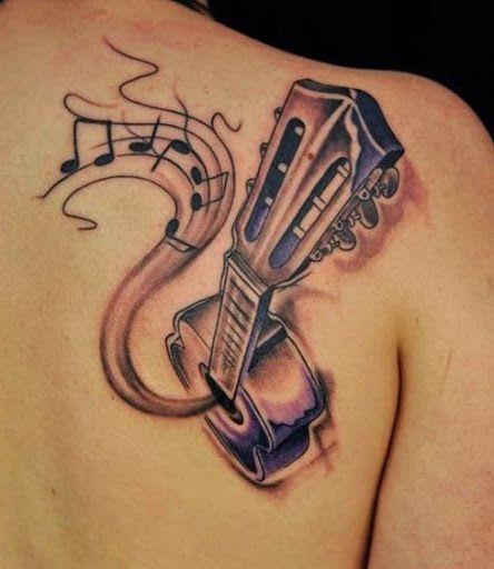 Epingle Par Tattoo Egrafla Sur Tatouage Notes De Musique Tatouage