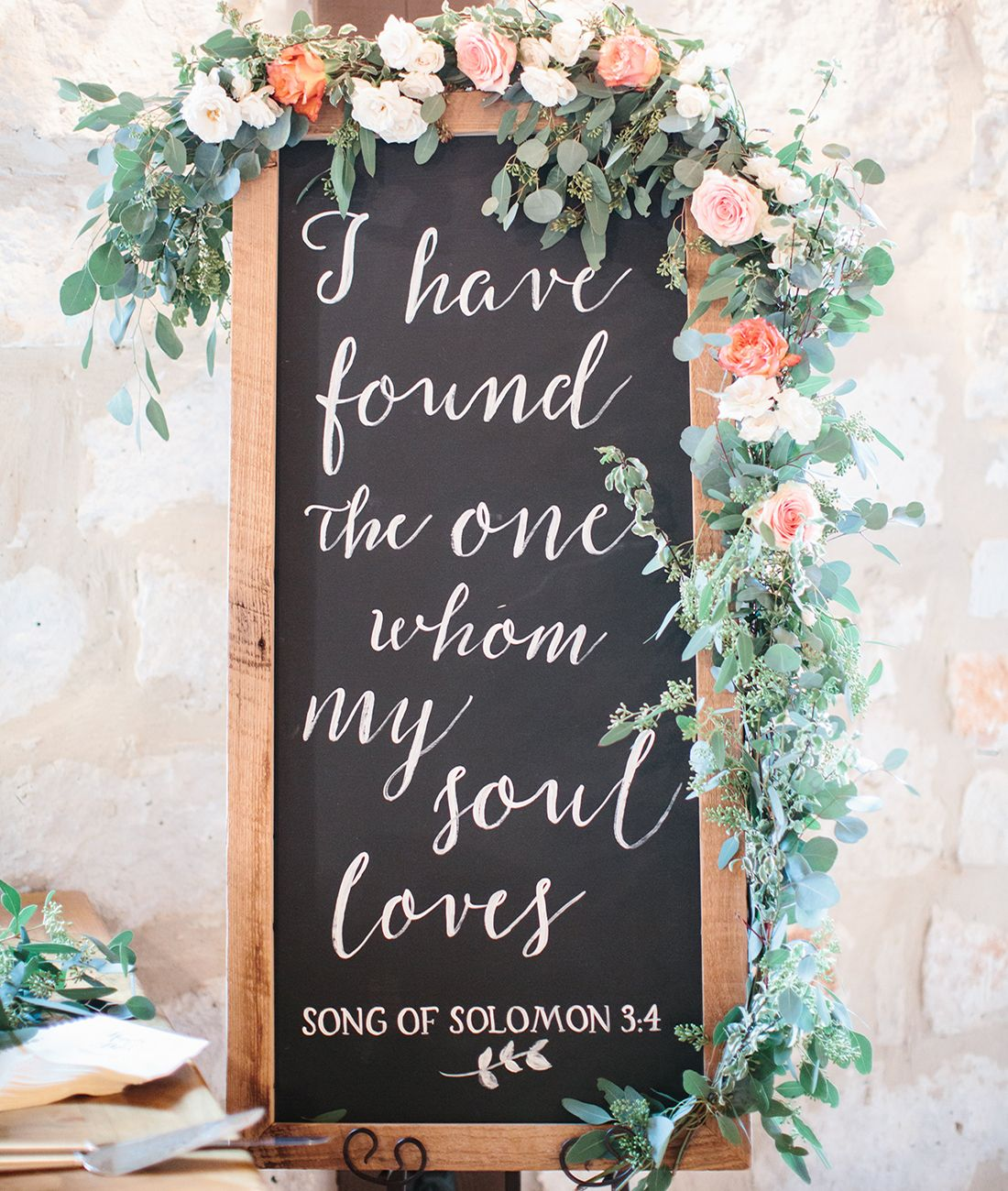 "Wedding Decor Signs Cool Song Of Solomon"" Lettered Sign  Solomon And Weddings 2018"