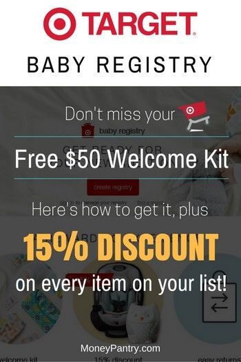 Create a Target Baby Registry to Get a Free Welcome Bag ...