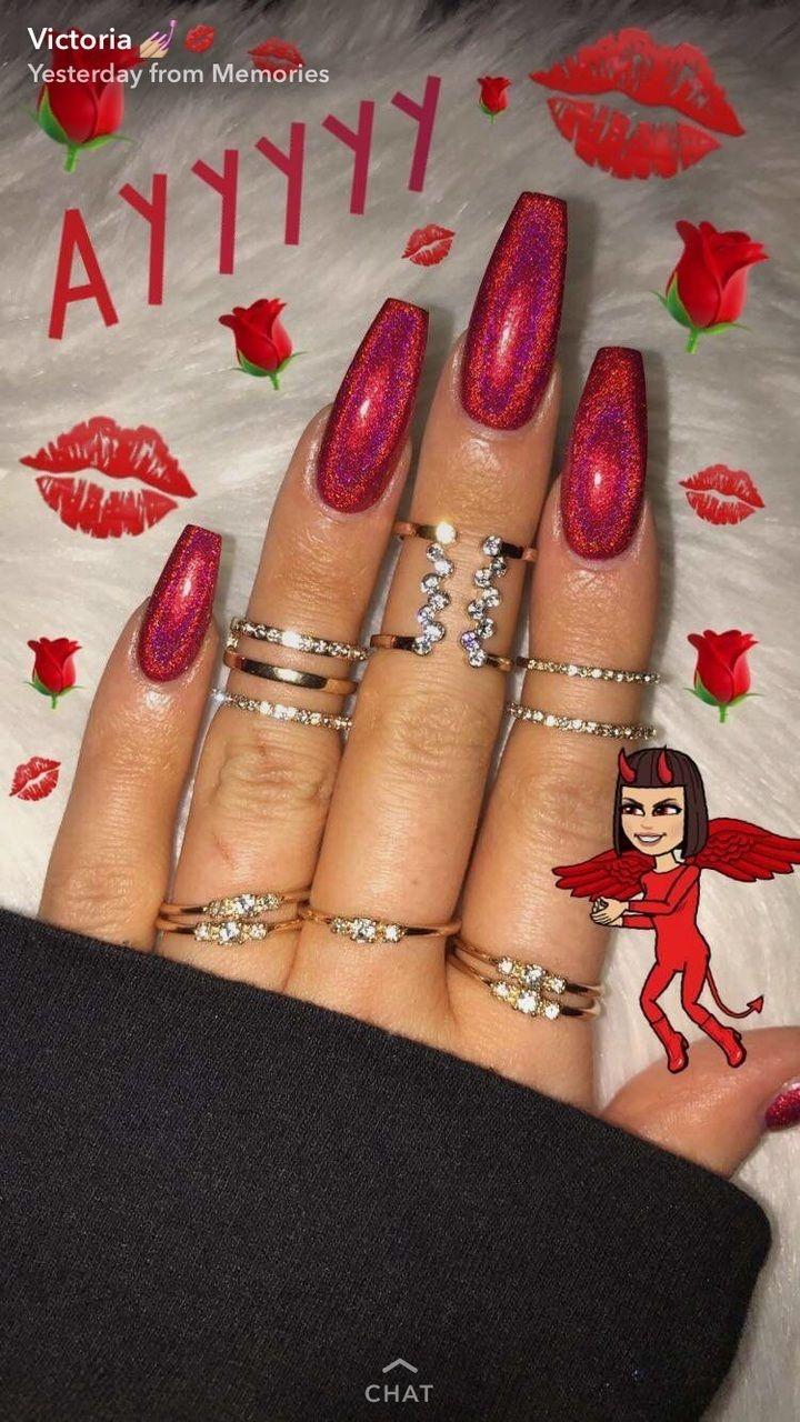 Pinterestelasialarkin nails pinterest nail inspo coffin