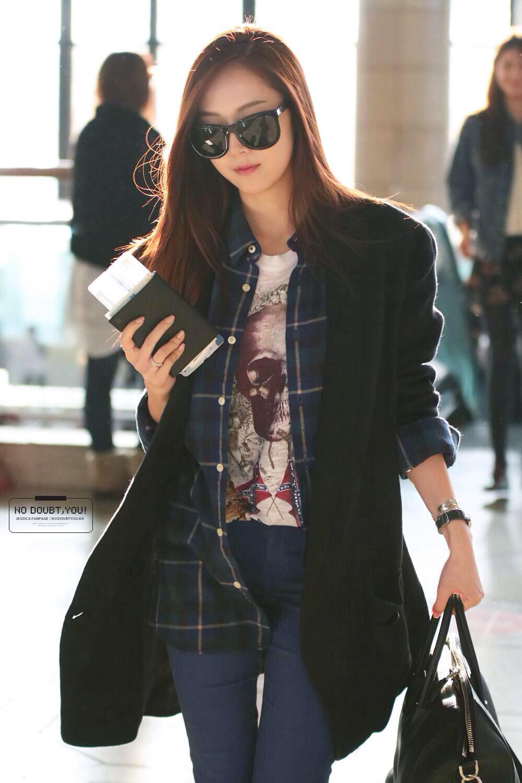 Snsd Jessica Jung Airport Jessica Jessica Jung Jung Soo Yeon Soo Yeon Pinterest