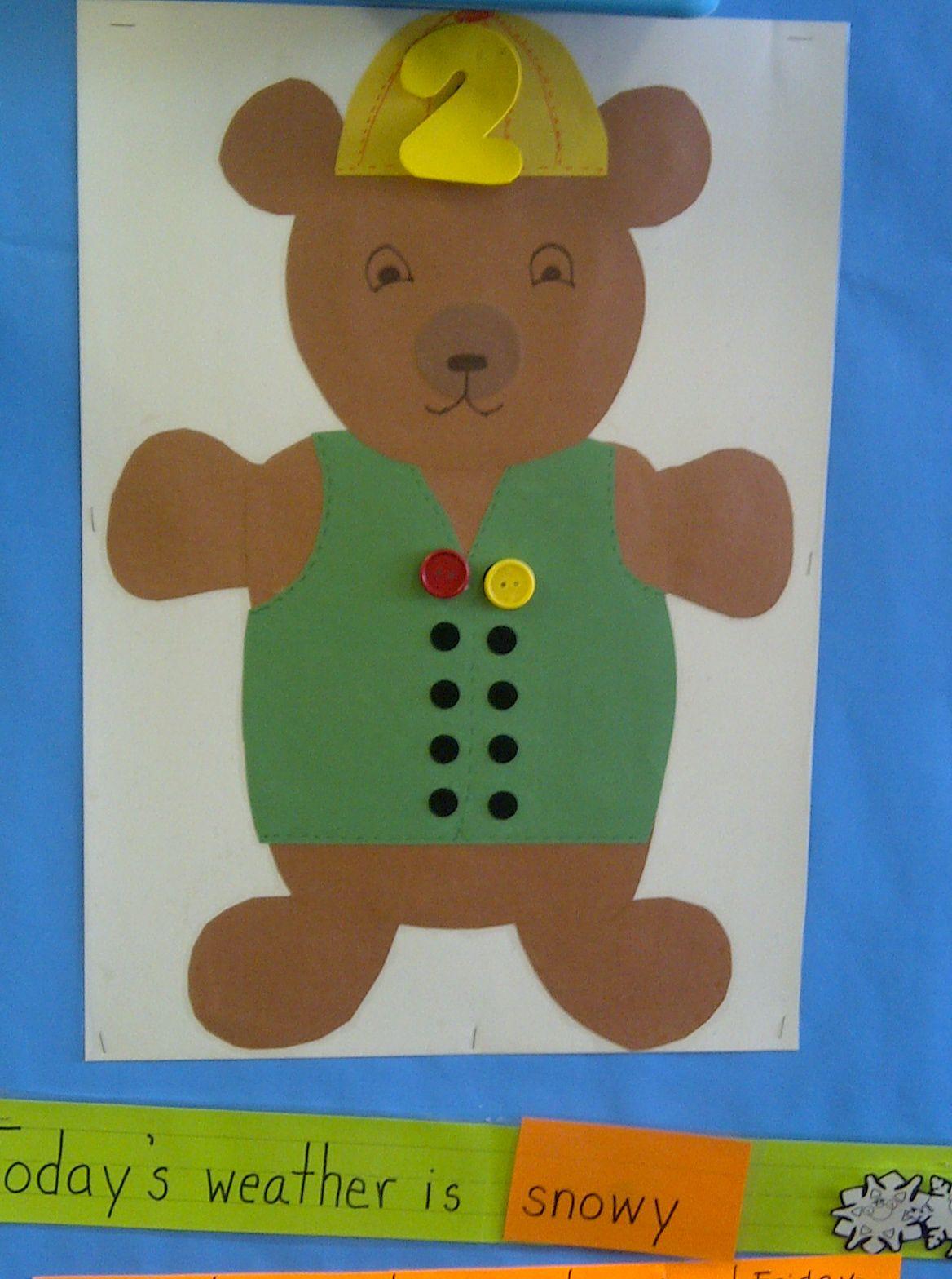 Circle Time Number Bear