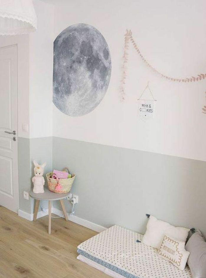 ▷1001+ idées pour aménager une chambre Montessori Kos, Kids rooms - exemple de couleur de chambre