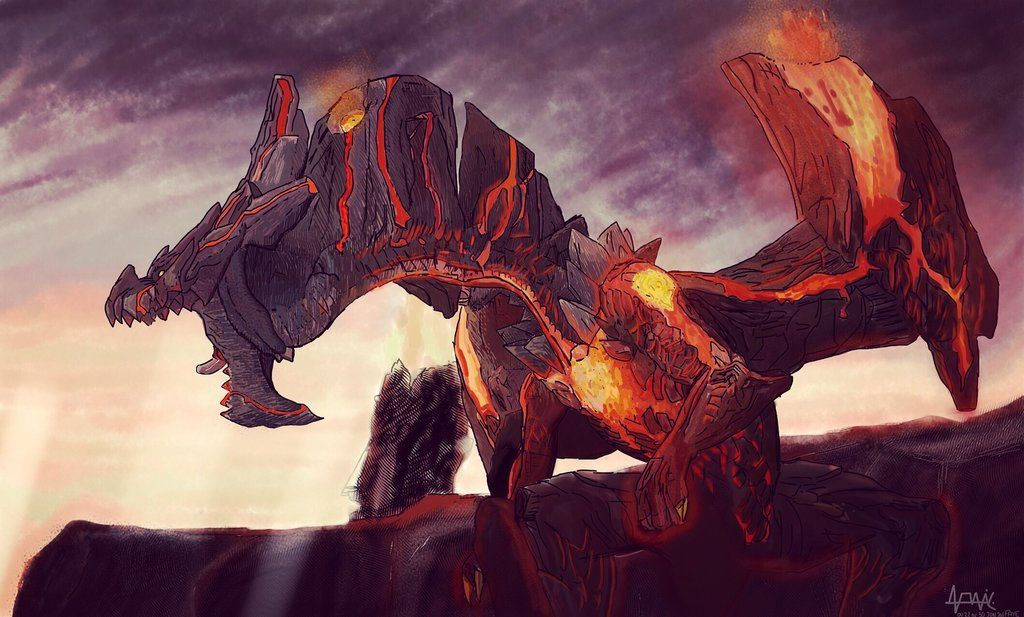 Dire Miralis Drawing Monster Hunter 3 Ultimate By Akriddrawing