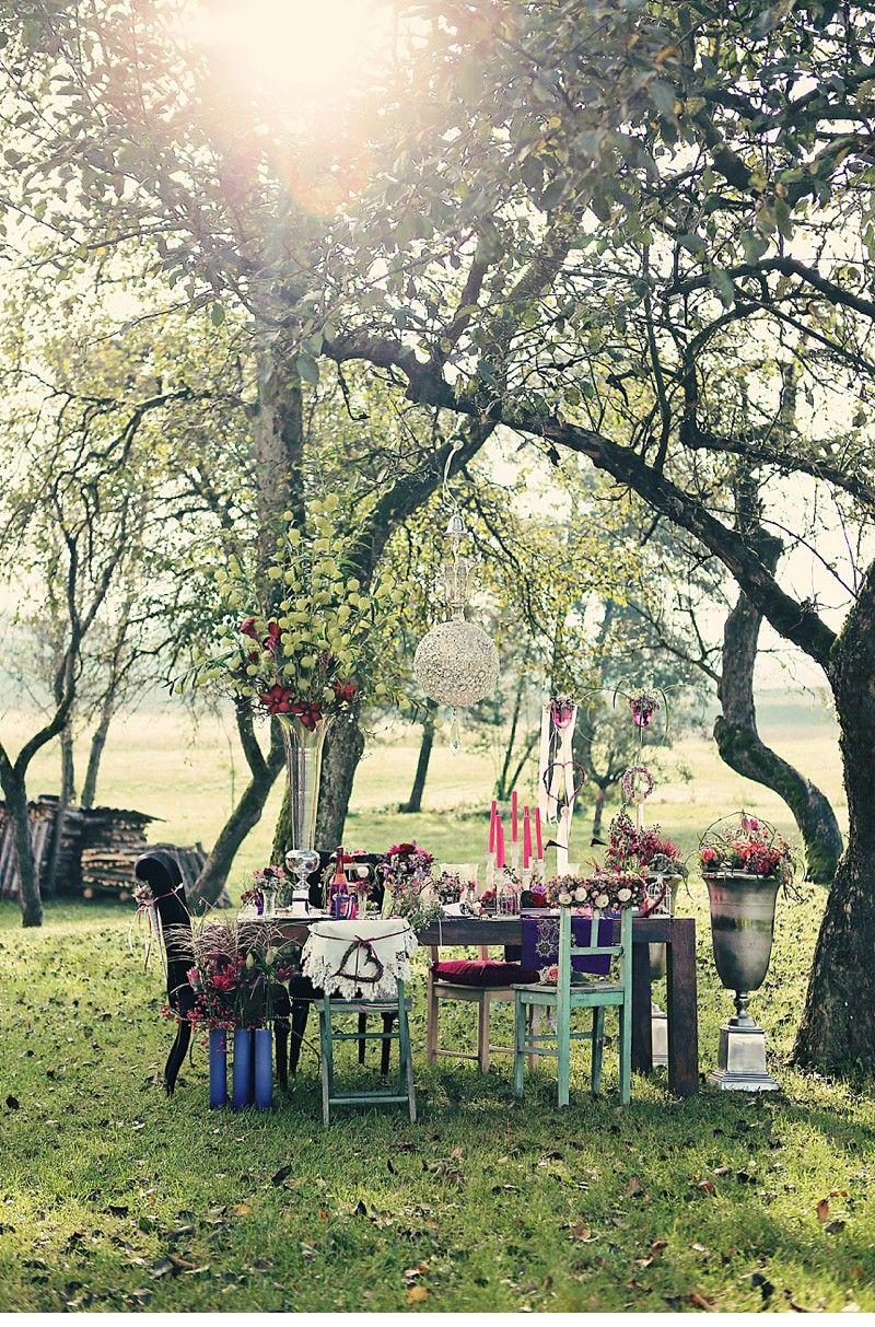 Herbstzauber in Brombeertönen von Blumen Isabella und Henry Welisch - Hochzeitsguide