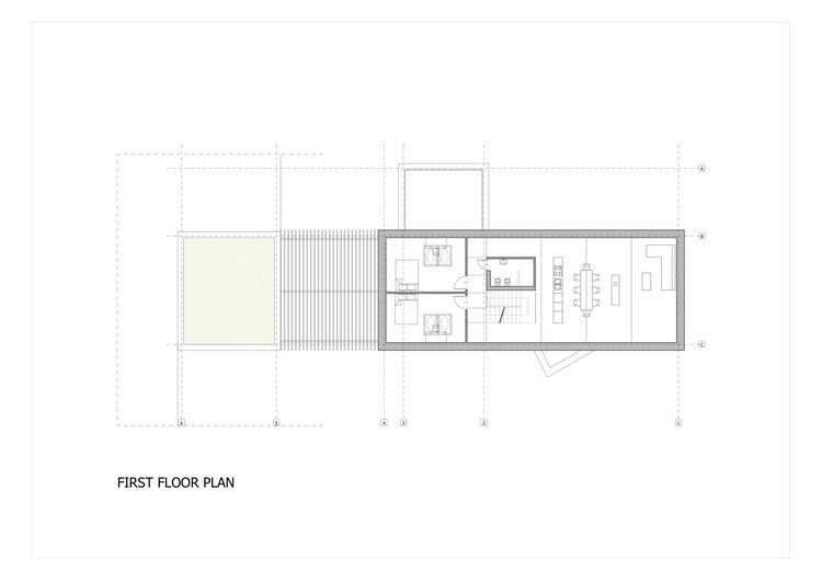 Kropka Studio completed the design and development of House in the Landscape, a private residence in southern Poland.