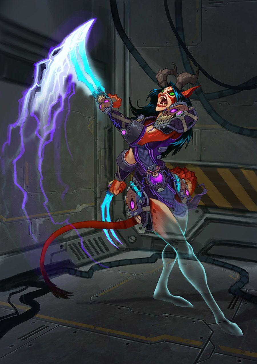 Draken Female Artwork From Wildstar Art Artwork Gaming