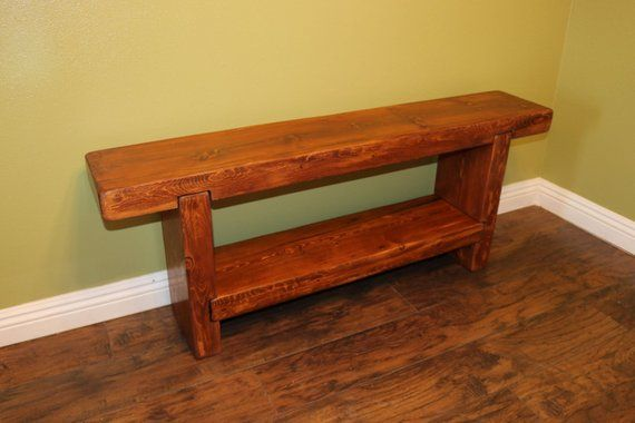 Stupendous Wood Bench Entry Way Bench Rustic Bench Products In 2019 Machost Co Dining Chair Design Ideas Machostcouk