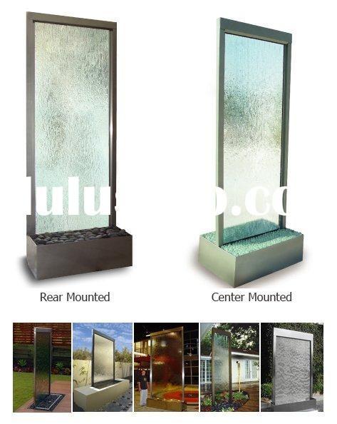 Indoor Waterfall Water Wall Fountain Floor Standing
