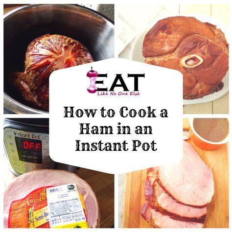 Instant Pot Pineapple Brown Sugar Ham | Recipe | How to ...