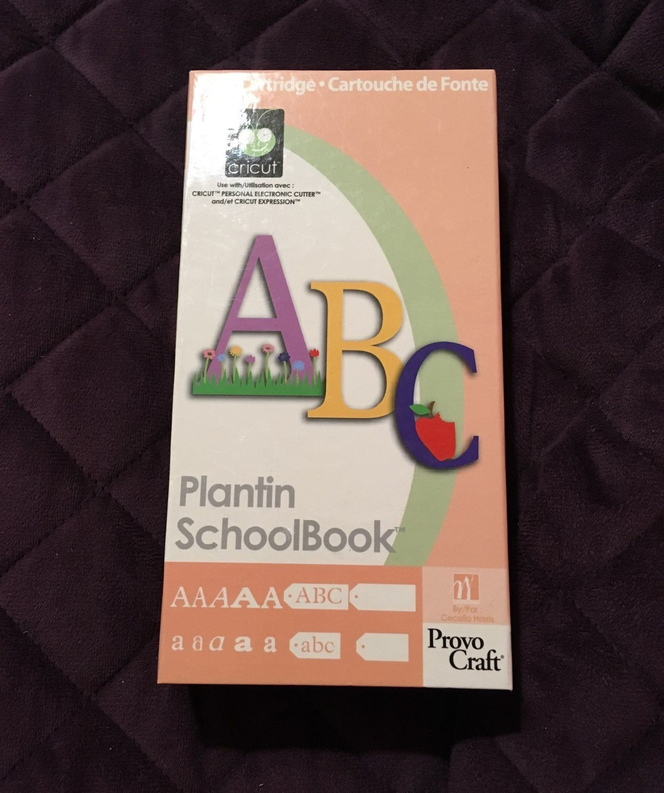 Plantin Schoolbook Cricut Cartridge Is Used I Do Not Know If This Is Linked So Do Not Buy This If You Are Using An Cricut Cartridges Cricut Expression Cricut