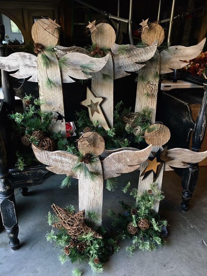 Pin By Dame Teta On Art Christmas Wood Crafts Pinterest