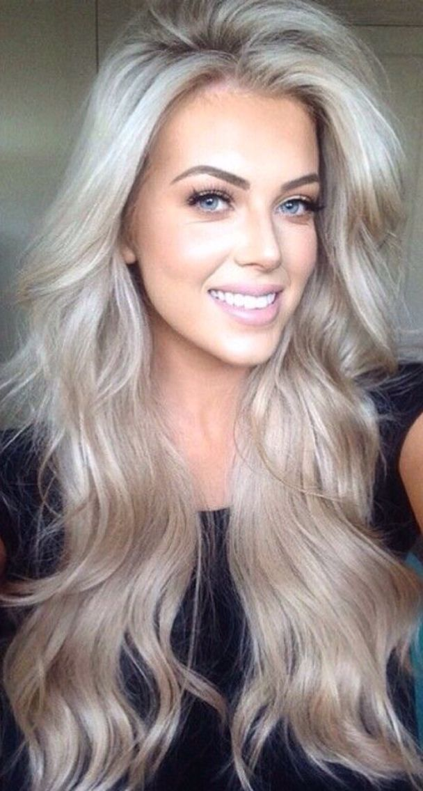 Love This Ashy Blonde Hair Styles Long Hair Styles
