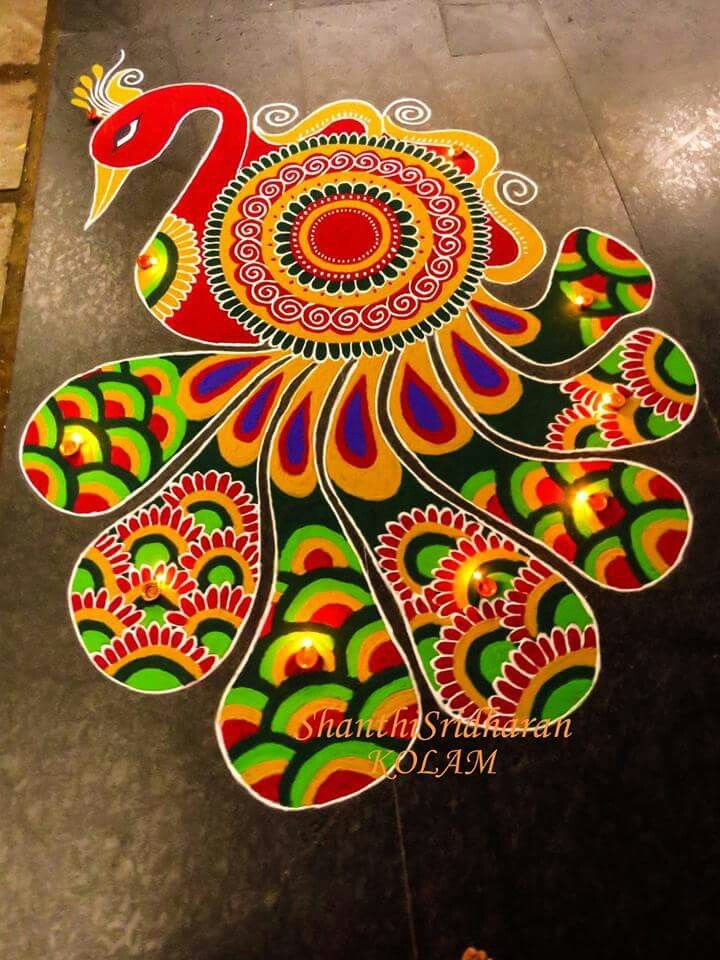 Pin by Viji Chidam on Rangoli Rangoli designs, Rangoli